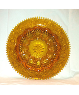 Vintage Tiara Exclusives Indiana Glass amber deviled egg plate platter - $10.00