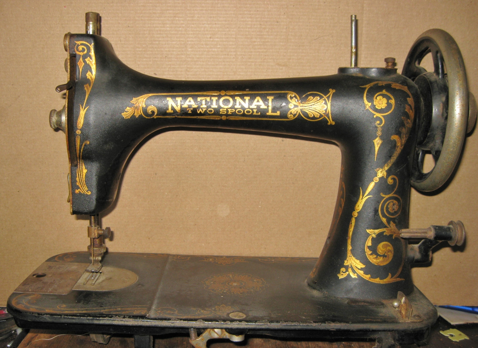 national two spool sewing machine
