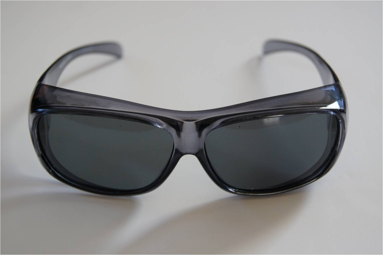 Clear bk polarized sunglasses wear put cover over rx for Prescription fishing sunglasses