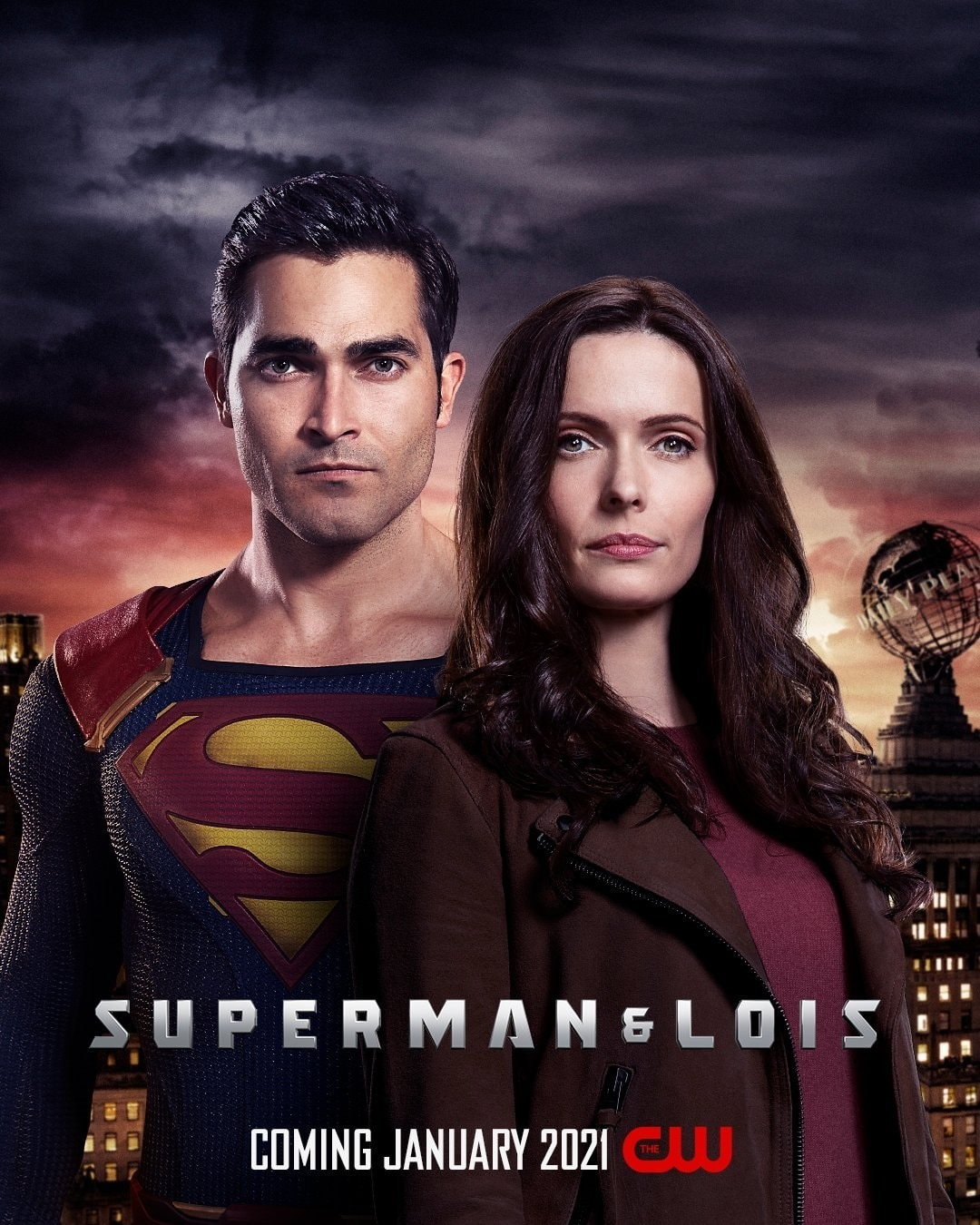 "Primary image for Superman and Lois Poster DC Universe CW TV Series Art Print 11x17"" 14x21"" 18x24"""