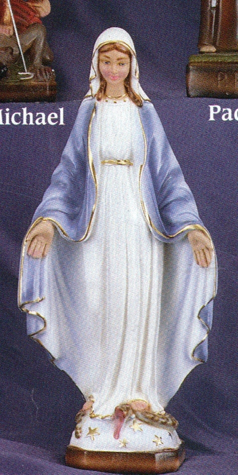 Our lady of grace   12 inch statue