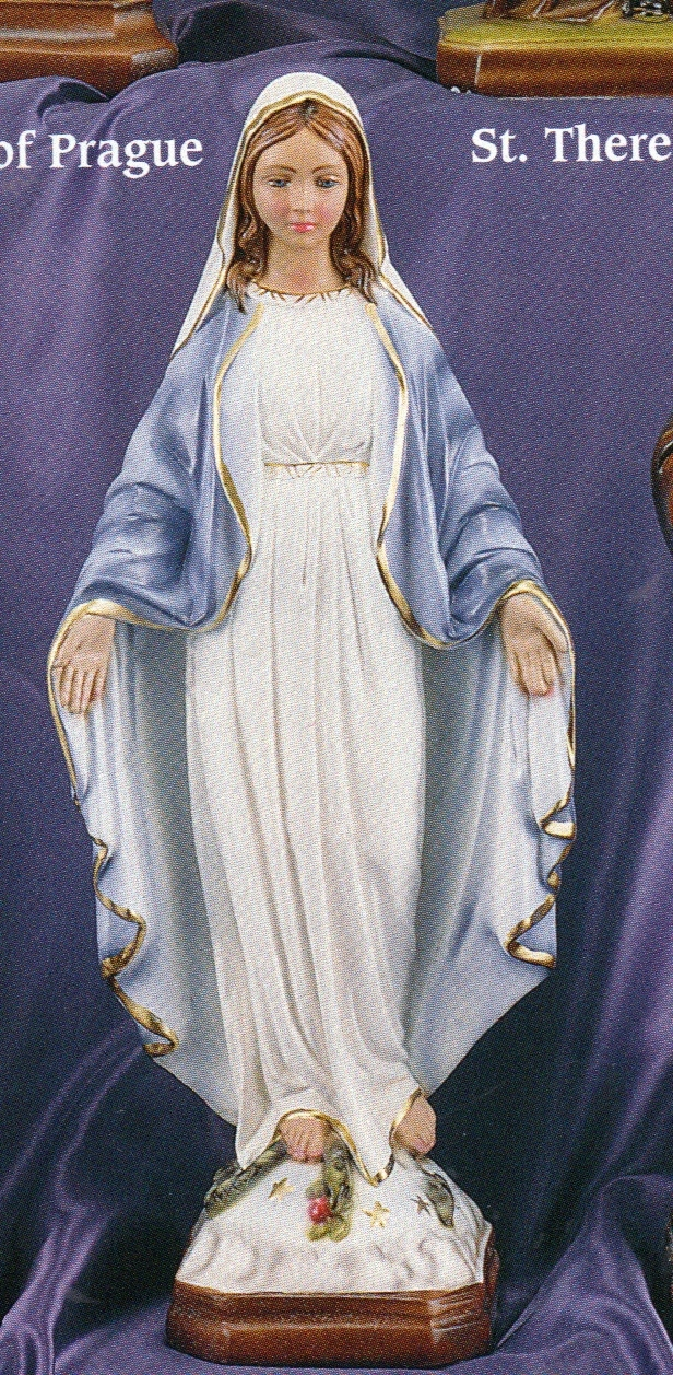 Our lady of grace 16 inch statue