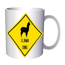 Llama Xing Sign 11oz Mug t167 - $10.83
