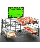 """2 Tier Extra Wide Countertop Display 20""""W x 12""""D x 10""""H - $33.56"""
