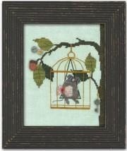 Woodland Mouse Woodland Whimsy #4 framed version cross stitch chart JABC - $12.00