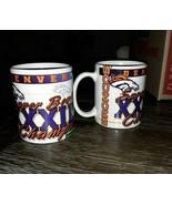 Denver Broncos Super Bowl 32 Champion 1998 Mug Set Of 2 - $9.50