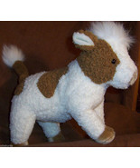 "JERSEY Beanie Baby COW NEW Brown White TY CLASSIC 20"" 1997 RETIRED - $17.00"
