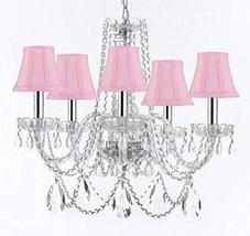 Made with Swarovski Crystal Murano Venetian Style Chandelier Crystal Lig... - $287.13