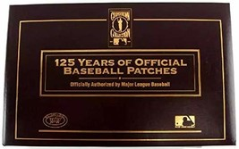 An item in the Collectibles category: Willabee & Ward - Cooperstown Collection -125 Years of Official Baseball Patches