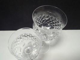 2 MIKASA CRYSTAL CHATEAU WINE / GOBLETS~~2 sizes image 2