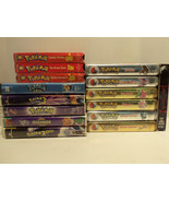 Lot of 14 Pokemon Johto Journeys Gold & Silver Edition VHS Movies Digimo... - $58.79