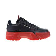 Reebok Club C Cardi Women's Shoes Core Black-Vector Red-Rose Gold H05179 - $120.00