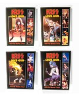 KISS Set OF 4 Paul, Gene, Ace, Peter 1977-78 World Tour Stand-Up Displays - $60.00