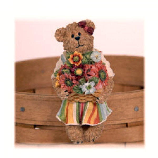 "Primary image for Boyds Bears ""Maggie Blossombeary""#651433-  Longaberger Exclusive-Basket Sitter"