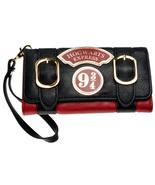 Harry Potter Hogwarts Express 9 3/4 Double Buckle Flap Wallet - $29.99