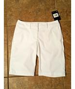 NWT Nike Flex Womens Dri-Fit Golf Active Sport Golf Shorts Size 2 White ... - $29.99
