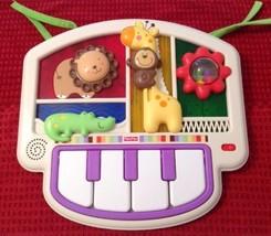 Luv U Zoo Crib-to-Floor Activity Piano - Fisher Price V5611  Birth+ 2010... - $16.34