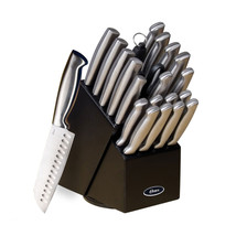 Oster Baldwyn 22 Piece Stainless Steel Cutlery Set with Stainless Steel Handl... - $92.20