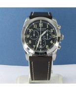 Swiss Army 241567 Infantry Chronograph Dark Grey Dial Brown Strap Watch ... - $362.59