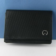 Dunhill Micro d-eight Business Card Case Black Calfskin Lacquer NWOT $135 - $112.69