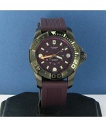 Victorinox Swiss Army 241558 Divemaster 500 Purple Strap 38mm Watch New ... - $538.99