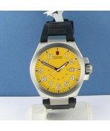 Victorinox Swiss Army 241164 Convoy Yellow Dial Mens Quartz Watch NWT $375 - $235.19