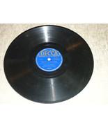 """Ella Fitzgerald 10"""" 78 RPM 2628 Decca Plays well That's All Brother; Wan... - $6.99"""