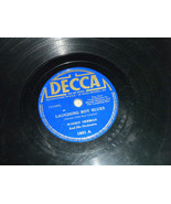 """Woody Herman 10"""" 78 RPM1801 Decca Playswell Laughing Boy Blues; Twin Cit... - $9.99"""