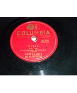 "Harry James 10"" 78 RPM 36390 Columbia Minka w Dick Haymes vocal; Misirlou - $9.99"