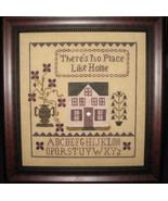 There's No Place Like Home cross stitch chart Abby Rose Designs - $8.55