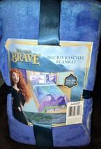 Disney Brave Merida Micro Raschel Blanket Twin Size - $35.00