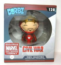 Funko Dorbz Iron Man #128 Collector's Corps Exclusive New Civil War - $8.89