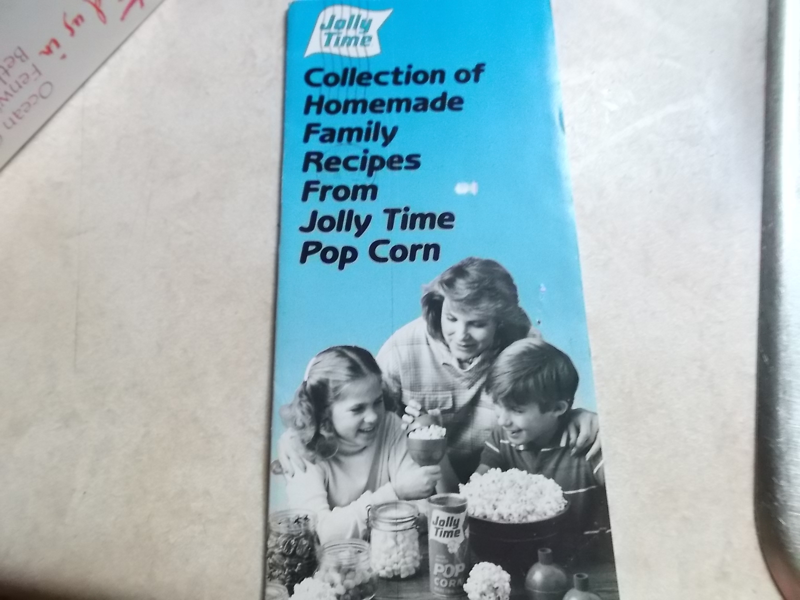 Primary image for Jolly Time Recipe Booklet of Homemade Family Recipes