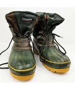 NORTHWEST TERRITORY Womens Duck Boots Size 9 Wool Felt Liners EUC - $33.20