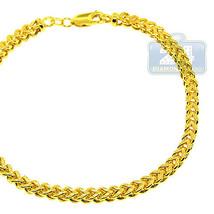 Real 10K Yellow Gold Diamond Cut Franco Box Lin... - $569.25