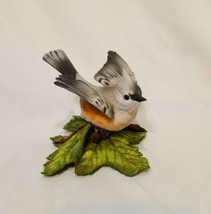 "Tufted Titmouse Bird Lenox Fine Porcelain Figurine 3"" Fine Porcelain  - $24.89"
