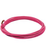 New Pink 20ft jr kid little looper rodeo youth roping rope western lasso... - $16.90