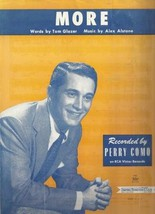 More (Recorded By Perry Como) [Sheet music] by Tom Glazer; Alex Alstone - $7.56