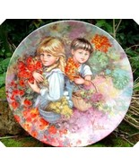 Wedgwood My Memories Our Garden Plate Vickers - $55.00