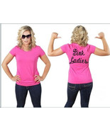 PINK LADIES hot or soft Pink Shirt greaser lady... - $14.99 - $17.99