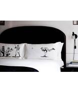 Pillow fighting BASEBALL pillowcases fight Batt... - $29.95