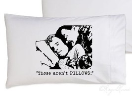 One Black FUNNY Those aren't PILLOWS pillowcase 1980s john comedy pillow... - $11.99