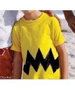 3-4T Cartoon Charlie Yellow Black Zig Zag kids ... - $13.99
