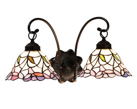 "Meyda Home Indoor Decorative 20.5""W Daffodil Bell 2 Lt Wall Sconce 1235-... - $275.40"