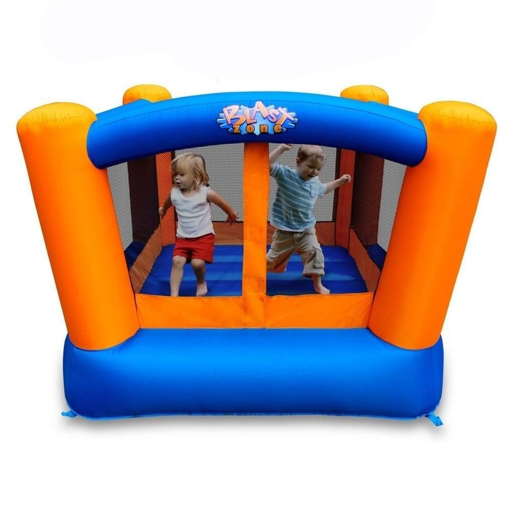 Inflatable Bounce House Toddlers Kids Outdoor Little Bopper Bouncer Playset Jump