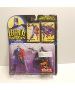 Legends Of Batman Pirate Batman and Two-Face 5in Figures Dueling Action - $25.00