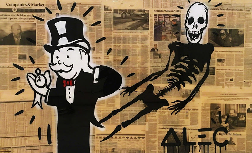 Alec Monopoly Print on Canvas Urban art Wall and similar items