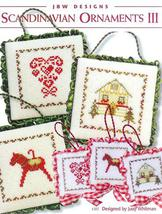 Scandinavian Ornaments III cross stitch chart JBW Designs - $4.50