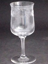 Lenox Hand cut wine glass Crystal  Made in USA Mt Pleasant PA - $23.13