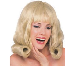 Wig - 60's Flip - Blonde - Adult - One-Size-Fits Most - Hairspray Grease - $11.86